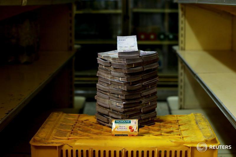 Una barra de jabón, 3.5 millones de bolívares